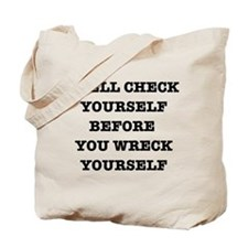 Spell check yourself Tote Bag