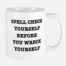 Spell check yourself Mugs