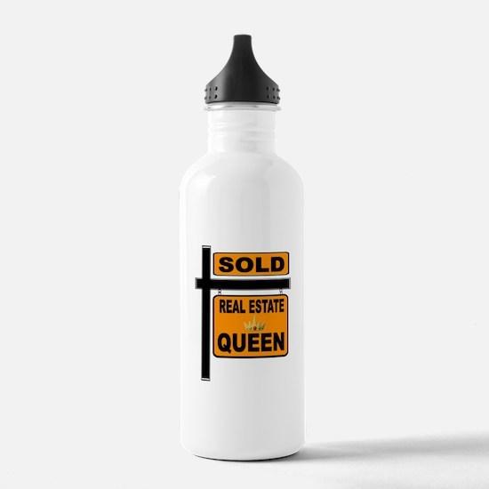 REAL ESTATE QUEEN Water Bottle
