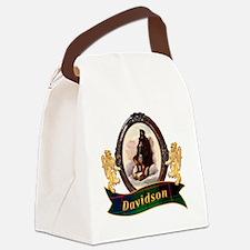 Davidson Clan Canvas Lunch Bag