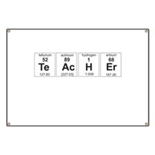 Teacher periodic elements Banner