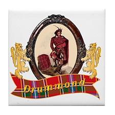 Drummond Clan Tile Coaster