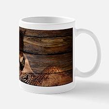 barnwood wild loon Mugs