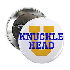 """KNUCKLE HEAD U 2.25"""" Button"""