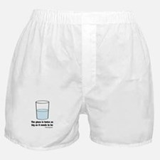 The glass is twice as big Boxer Shorts