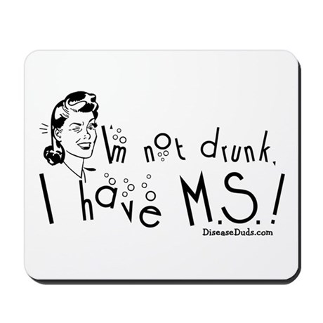 I'm not drunk, I have MS Mousepad