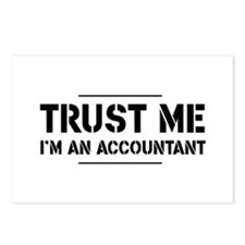 Trust me i'm an accountant Postcards (Package of 8