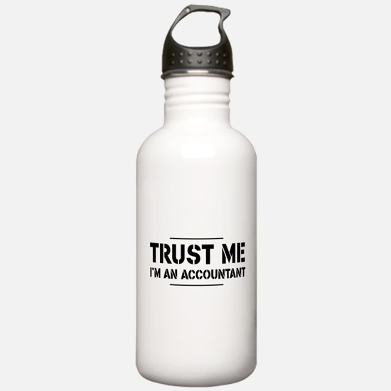 Trust me i'm an accountant Water Bottle