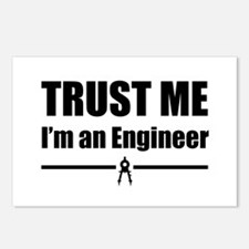 Trust me i'm an engineer Postcards (Package of 8)