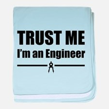 Trust me i'm an engineer baby blanket