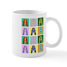 Basset Hound Pop Art Mug