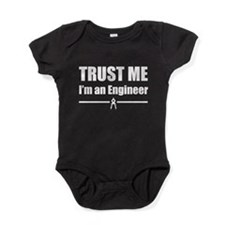 Trust me i'm an engineer Baby Bodysuit