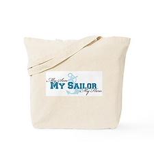 My son, my sailor, my hero Tote Bag