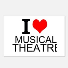I Love Musical Theatre Postcards (Package of 8)