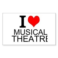 I Love Musical Theatre Decal