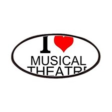 I Love Musical Theatre Patches
