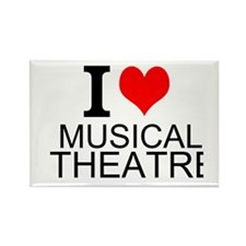 I Love Musical Theatre Magnets