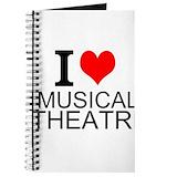 Musical theatre Journals & Spiral Notebooks