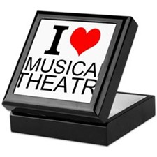 I Love Musical Theatre Keepsake Box