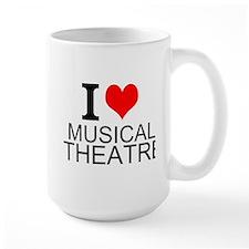 I Love Musical Theatre Mugs