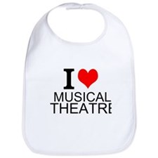 I Love Musical Theatre Bib