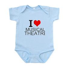 I Love Musical Theatre Body Suit