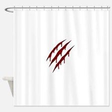 wolverine attack Shower Curtain