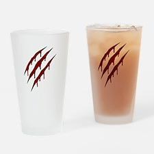 wolverine attack Drinking Glass