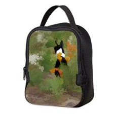 Rafiki in flowers Neoprene Lunch Bag