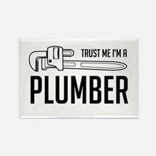Trust me i'm a plumber Magnets