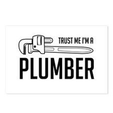 Trust me i'm a plumber Postcards (Package of 8)