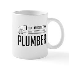 Trust me i'm a plumber Mugs