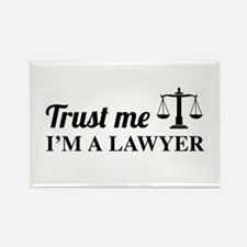 Trust me I'm a lawyer Magnets