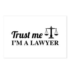 Trust me I'm a lawyer Postcards (Package of 8)