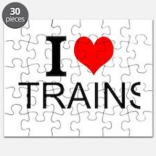 I Love Trains Puzzle