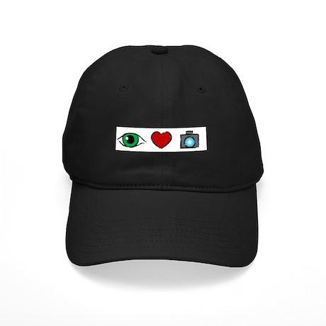 WTD: I Love Photography Black Cap