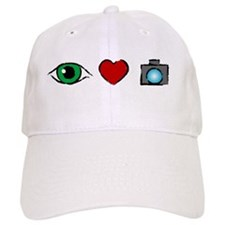 WTD: I Love Photography Baseball Cap
