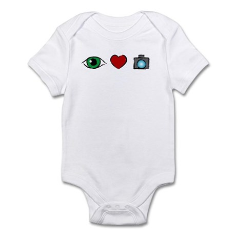 WTD: I Love Photography Infant Bodysuit