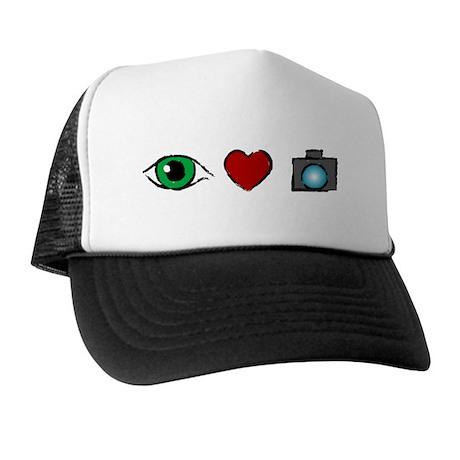 WTD: I Love Photography Trucker Hat