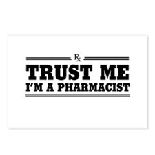 Trust me I'm a pharmacist Postcards (Package of 8)