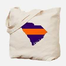 South Carolina Map Tote Bag