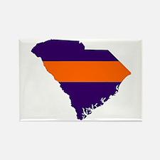 South Carolina Map Rectangle Magnet