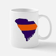 South Carolina Map Mug