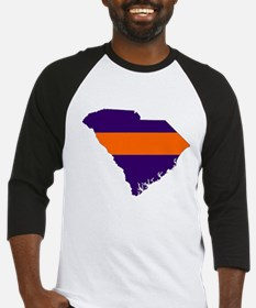South Carolina Map Baseball Jersey