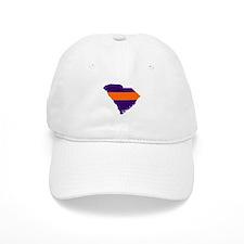 South Carolina Map Baseball Cap