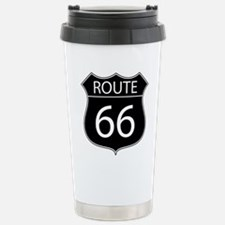 Route 66 Road Sign Travel Mug