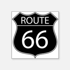 Route 66 Road Sign Sticker