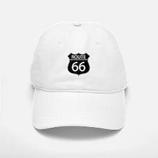 Route 66 Road Sign Baseball Baseball Baseball Cap