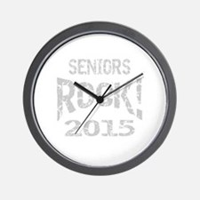 Seniors Rock 2015: Wall Clock