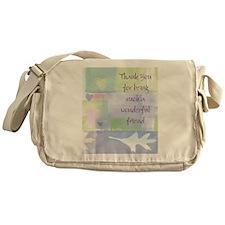Friend101.jpg Messenger Bag